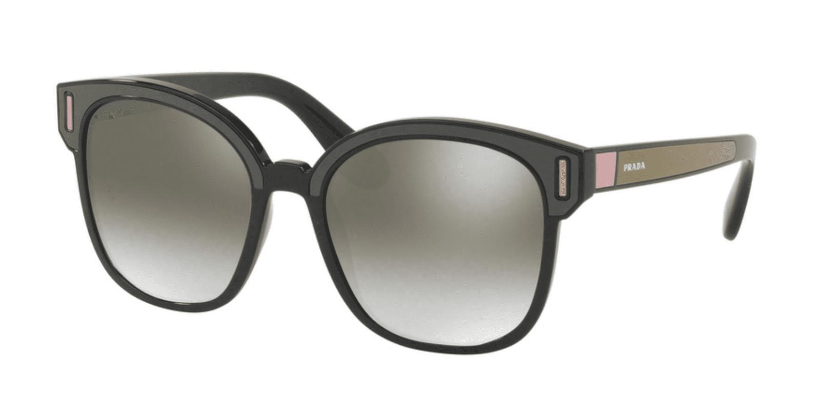 689034a9ce8a Prada - Prada PR 05US SVK5O0 Black/ Brown/ Pink Square Sunglasses -  Walmart.com