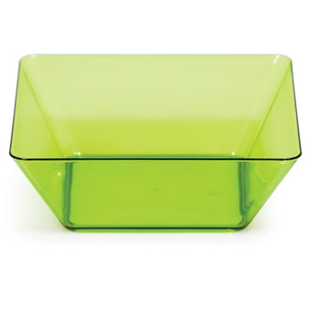 Green Round Bowl (Translucent Green 5