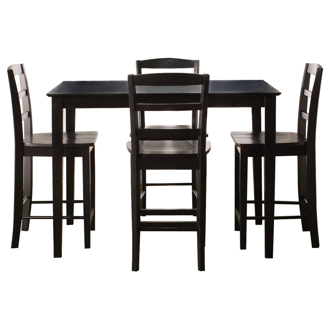 "30"" x 48"" Gathering Height Table with 4 Madrid Stools"