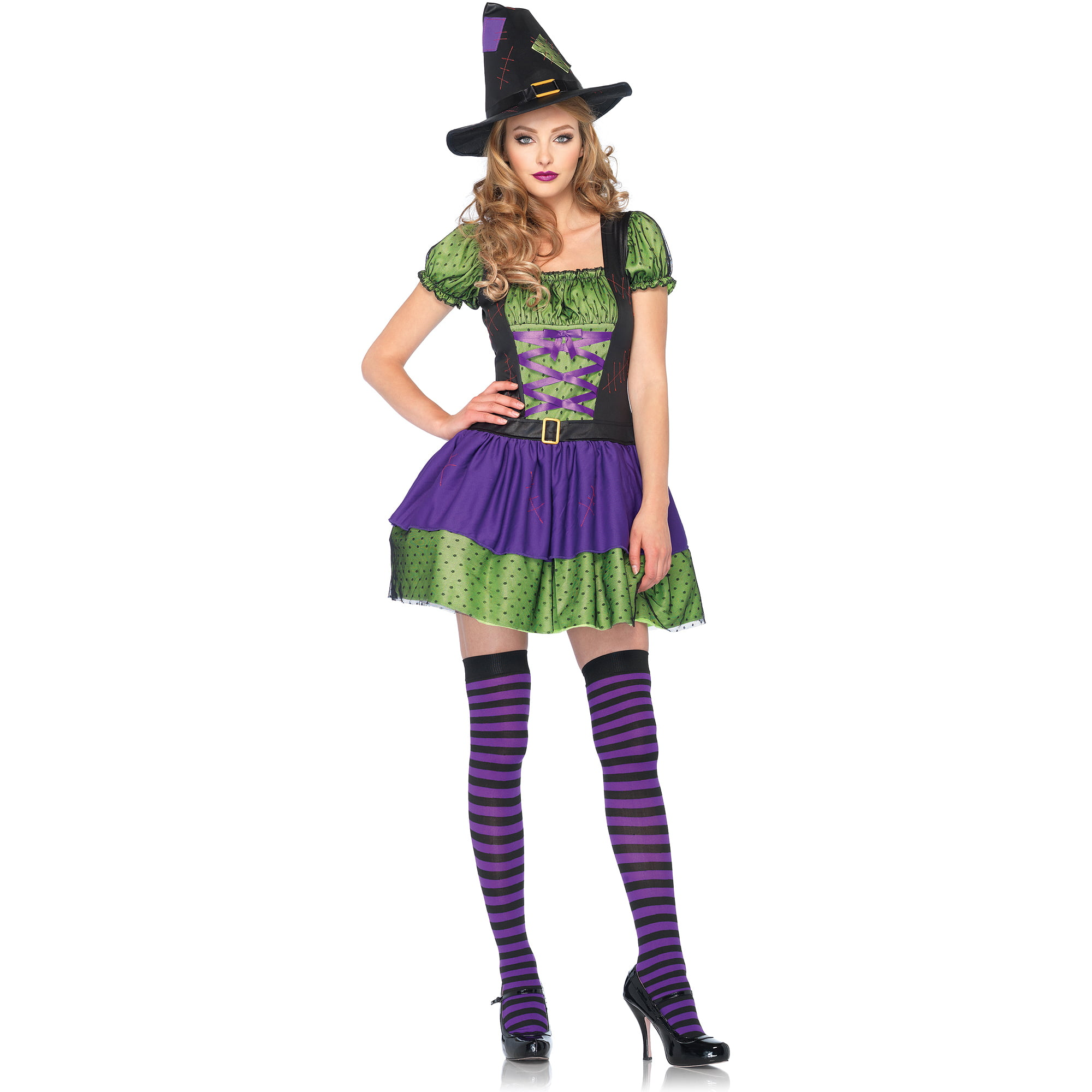 hocus pocus witch adult halloween costume - walmart