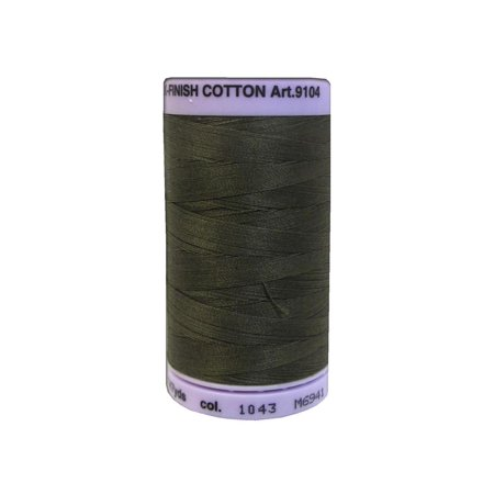 Mettler Silk Finish Cotton #50 547yd Olive
