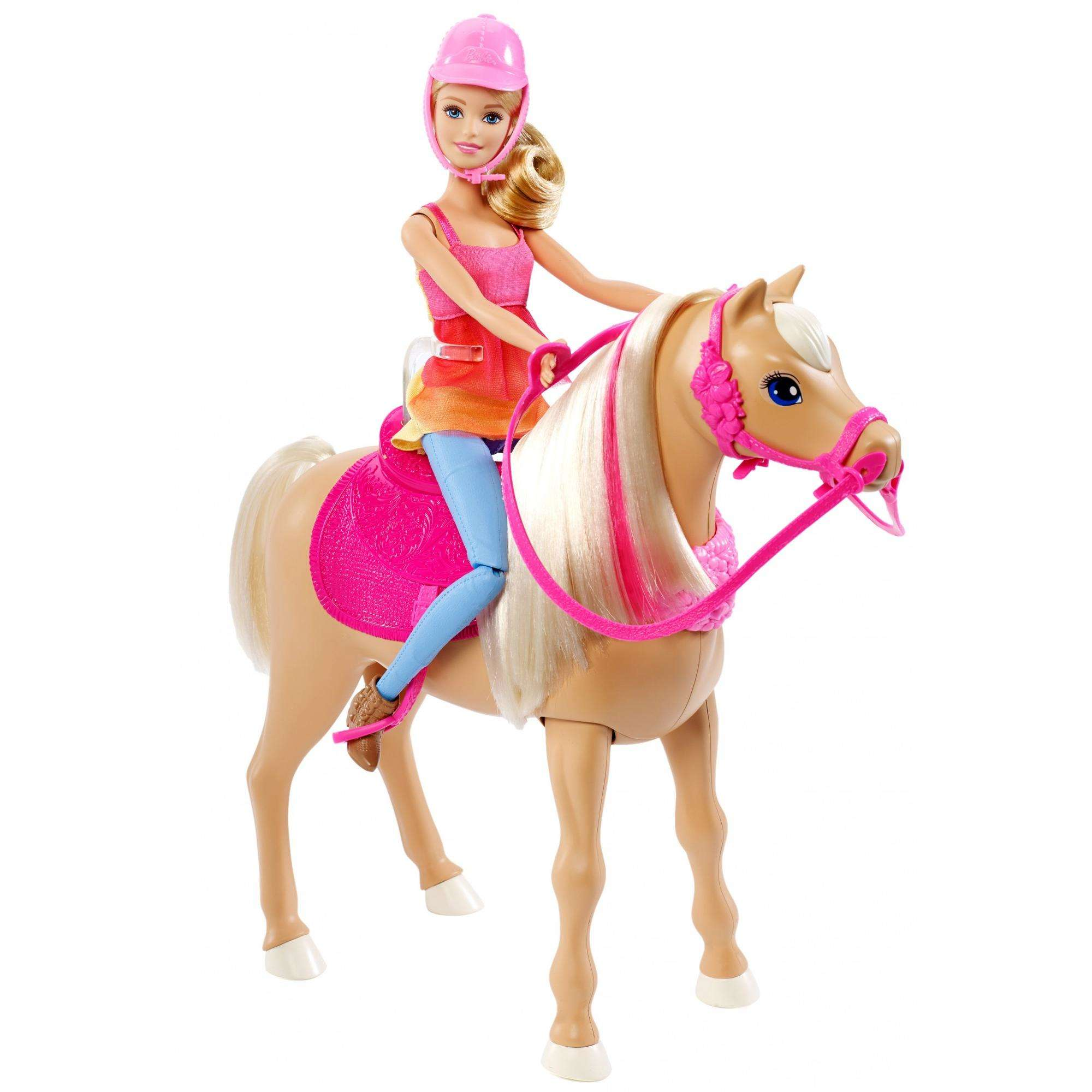 Barbie Dancin Fun Horse Party Dance Doll with Songs