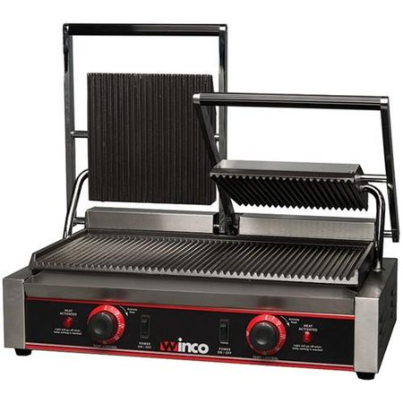 - Winco - EPG-2 - 19 in Double Panini Grill