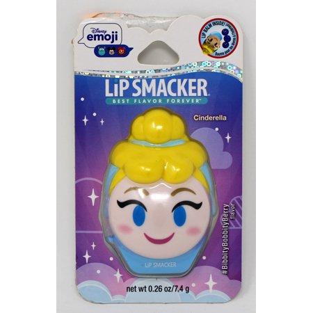 Lip Smacker Disney Emoji Lip Balm Cinderella 0.26 Ounce - Lollipop Lips Emoji
