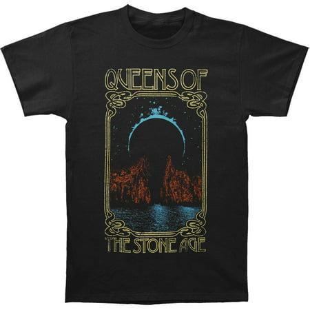 Queens Of The Stone Age Men's  Passage Mens Soft T Slim Fit T-shirt Black