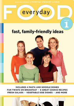 Everyday Food Vol. 1: Fast, Family-Friendly Ideas (DVD) by Ingram Entertainment