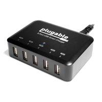 Plugable USB Charging Hub - 5-Port, 40W, 2.4A
