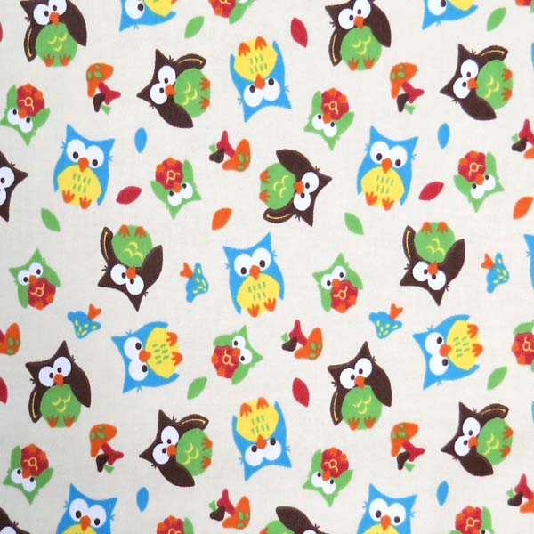 SheetWorld Fitted 100% Cotton Flannel Round Crib Sheet, Baby Animals