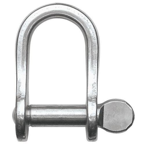RONSTAN RF616 D Shackle,Screw Pin,880 lb. G1802431