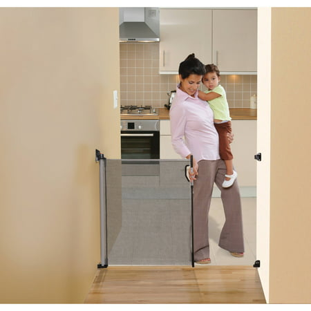 Dreambaby Indoor/Outdoor Retractable up to 55in Child Safety Baby Gate ()