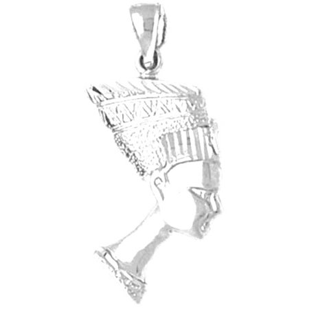 Sterling silver nefertiti pendant 27 mm approx 153 grams sterling silver nefertiti pendant 27 mm approx 153 grams mozeypictures Choice Image