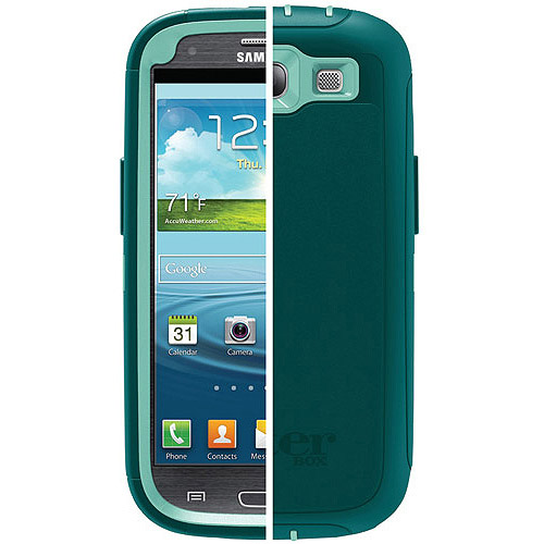 OtterBox Defender Series case for Samsung Galaxy S III, Black