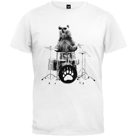 Bear Drummer T-Shirt (Drummer Bear)