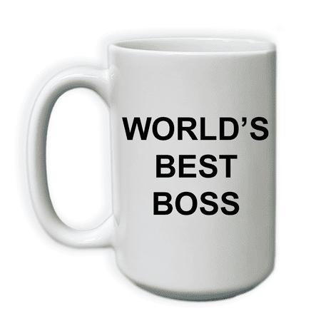 World's Best Boss | 15 oz Coffee Mug