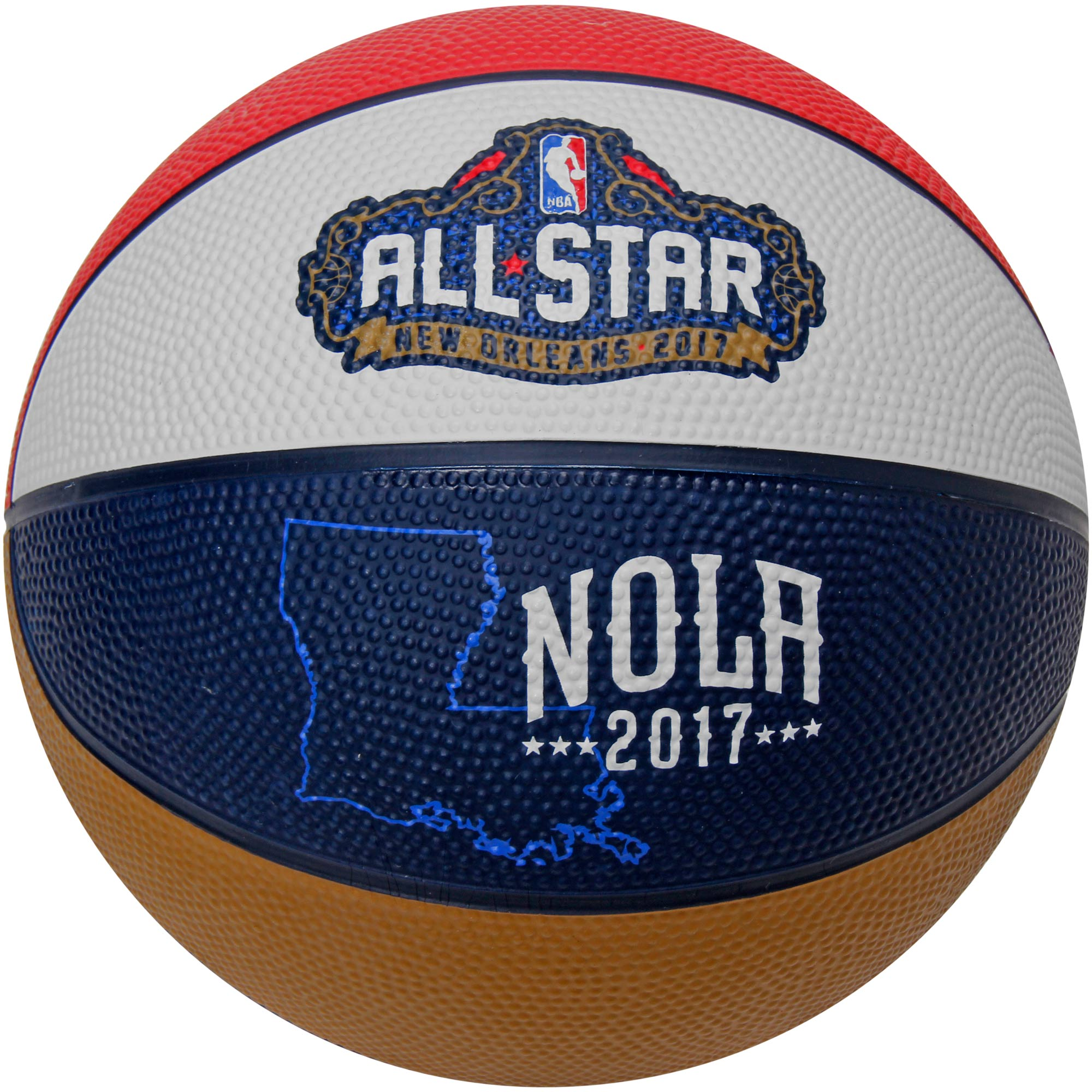 Spalding 2017 NBA All-Star Game State Mini Basketball - No Size