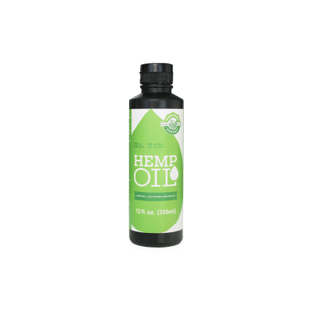Manitoba Harvest Cold-Pressed Hemp Seed Oil, 12.0 Fl