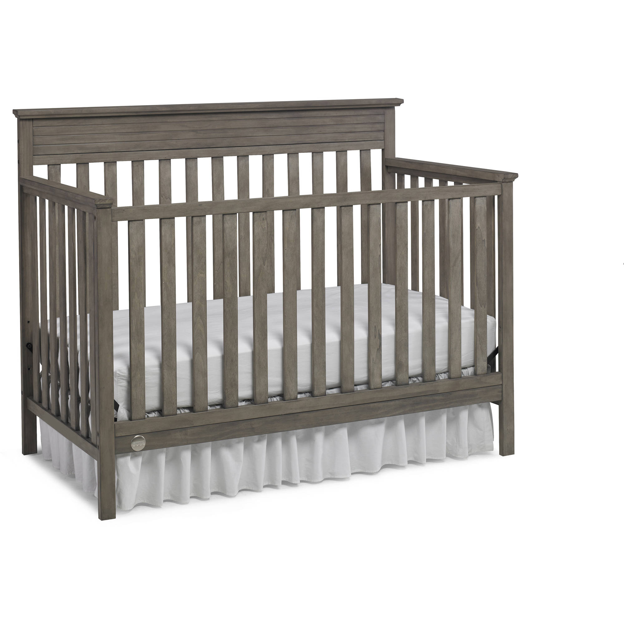 Fisher Price Newbury 4 In 1 Convertible Crib Misty Gray