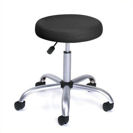 Pemberly Row Easy Movement Caressoft Doctor's Stool in
