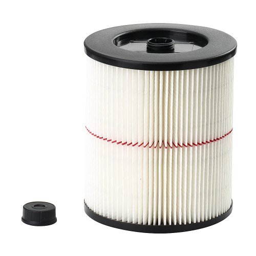 Craftsman 17816 Replacement Wet / Dry Utility Vacuum Cleaner Cartridge Filter for Most 5 Gallon and Larger Models.
