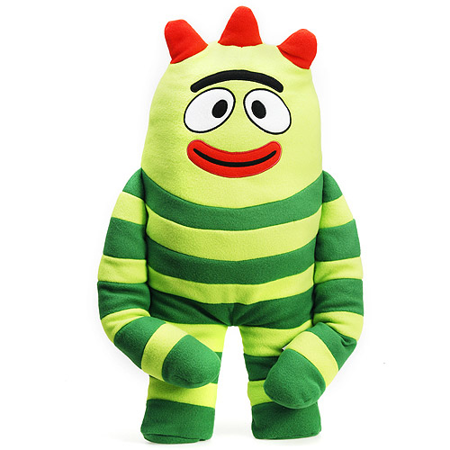 Yo Gabba Gabba Brobee Cuddle Pillow