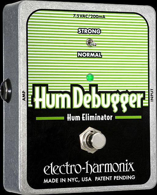Electro Harmonix Hum Debugger Hum Eliminator Effect Pedal with Power Supply Part Number:... by ELECTRO HARMONIX