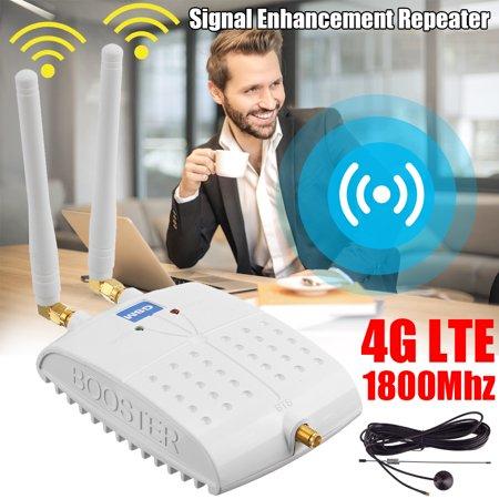 LCD GSM 1800M ALC Teknologi Penguat Sinyal untuk Sinyal Ponsel 4G LTE Booster Amplifier - image 9 de 9