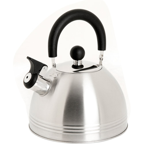 Mr. Coffee Carterton 1.5 qt Stainless Steel Whistling Tea Kettle, 91408.02
