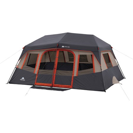 Ozark Trail 14' x 10' Orange Instant Cabin, Sleeps 10