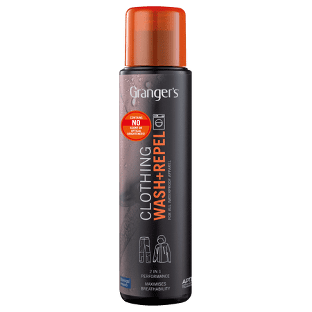 Grangers Clothing Wash + Repel / Cleaner & Wash-In Waterproofer for Outerwear / -
