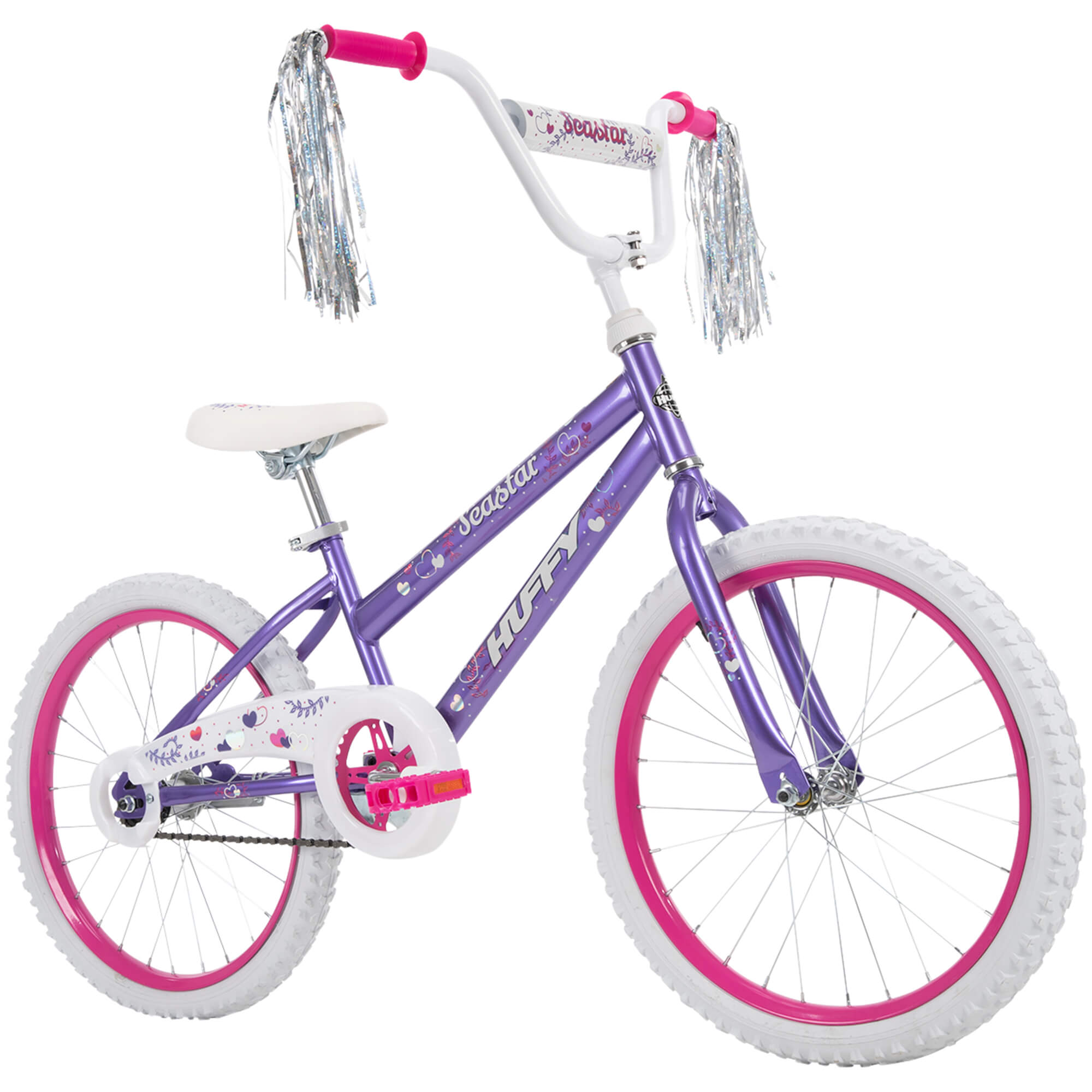 Blue and Pink Huffy 20-Inch Sea Star Girls/' Bike