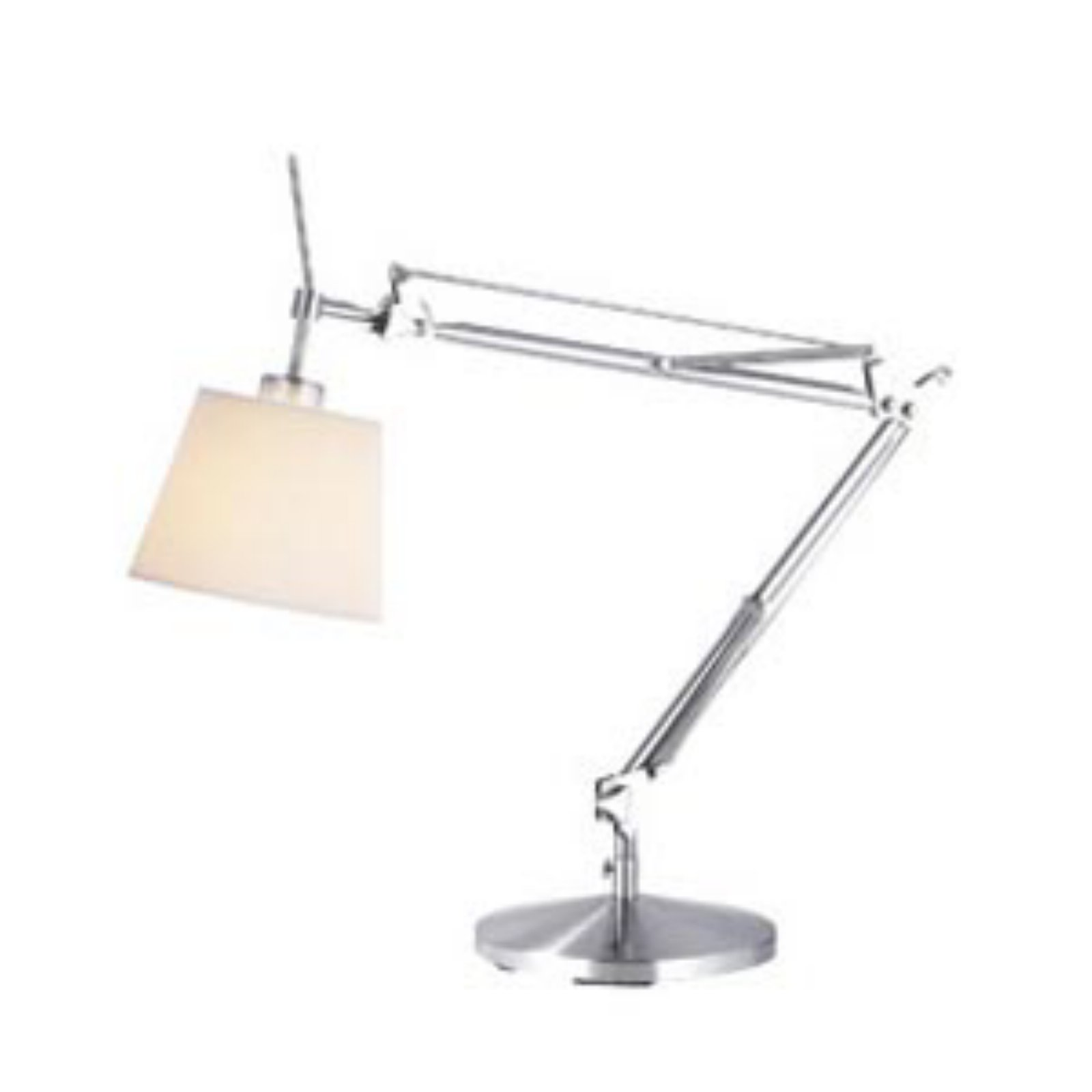 Adesso Architect Desk Lamp   Brushed Steel