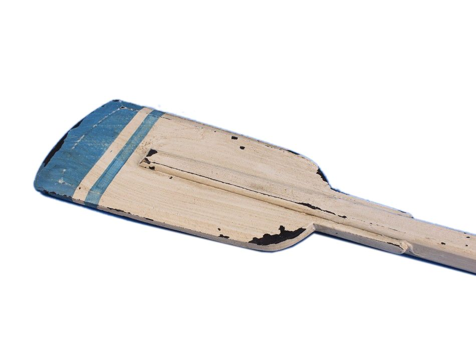"Wooden Huxley Squared Rowing Oar 50"" Decorative Paddle Nautical Oar by Handcrafted Nautical Decor"