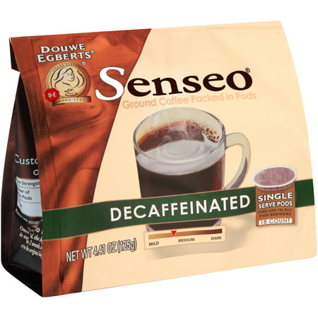 Senseo ® Decaffeinated Ground Coffee Single Serve Pods 18 ct Bag