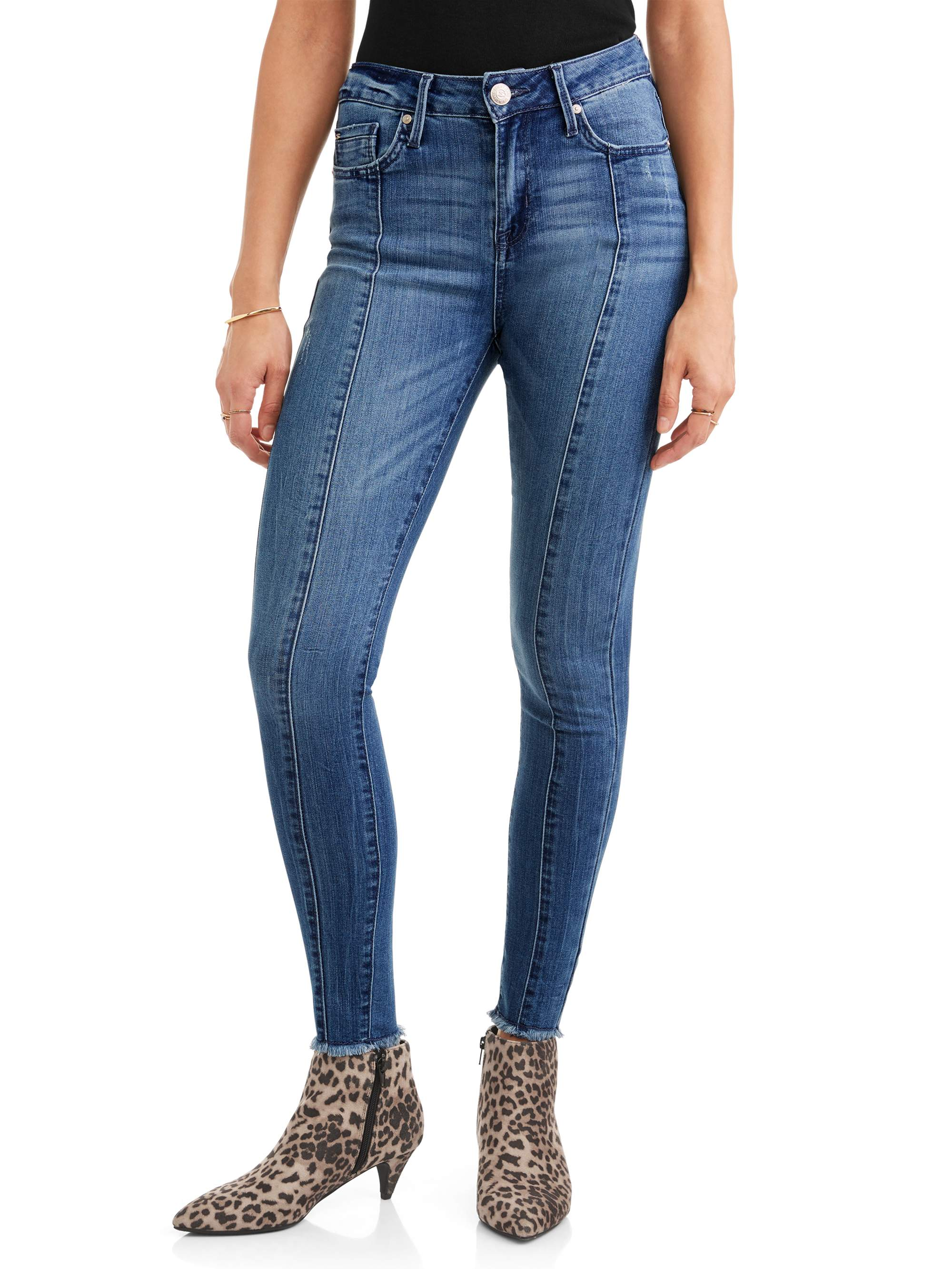 Women's Mid Rise Signature Ankle Skinny Jean w/ Front Seam