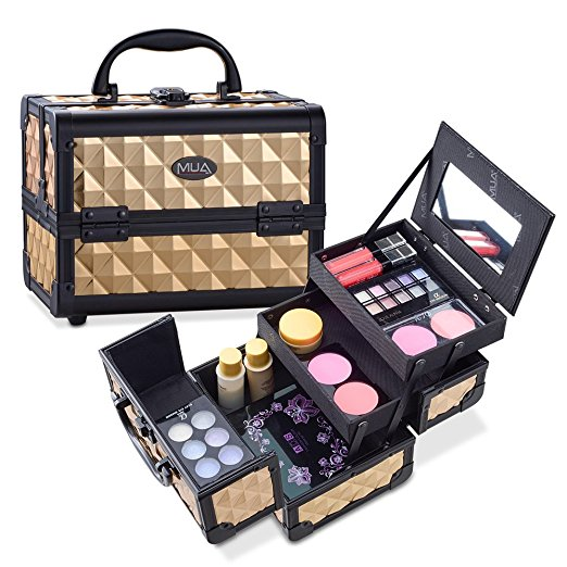 Mini In De Box.Mini Makeup Case 9 5 Aluminum Professional Cosmetic Organizer Box
