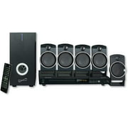 Best Home Theatre Systems - Supersonic SC37HT 5.1 Channel DVD Home Theater System Review