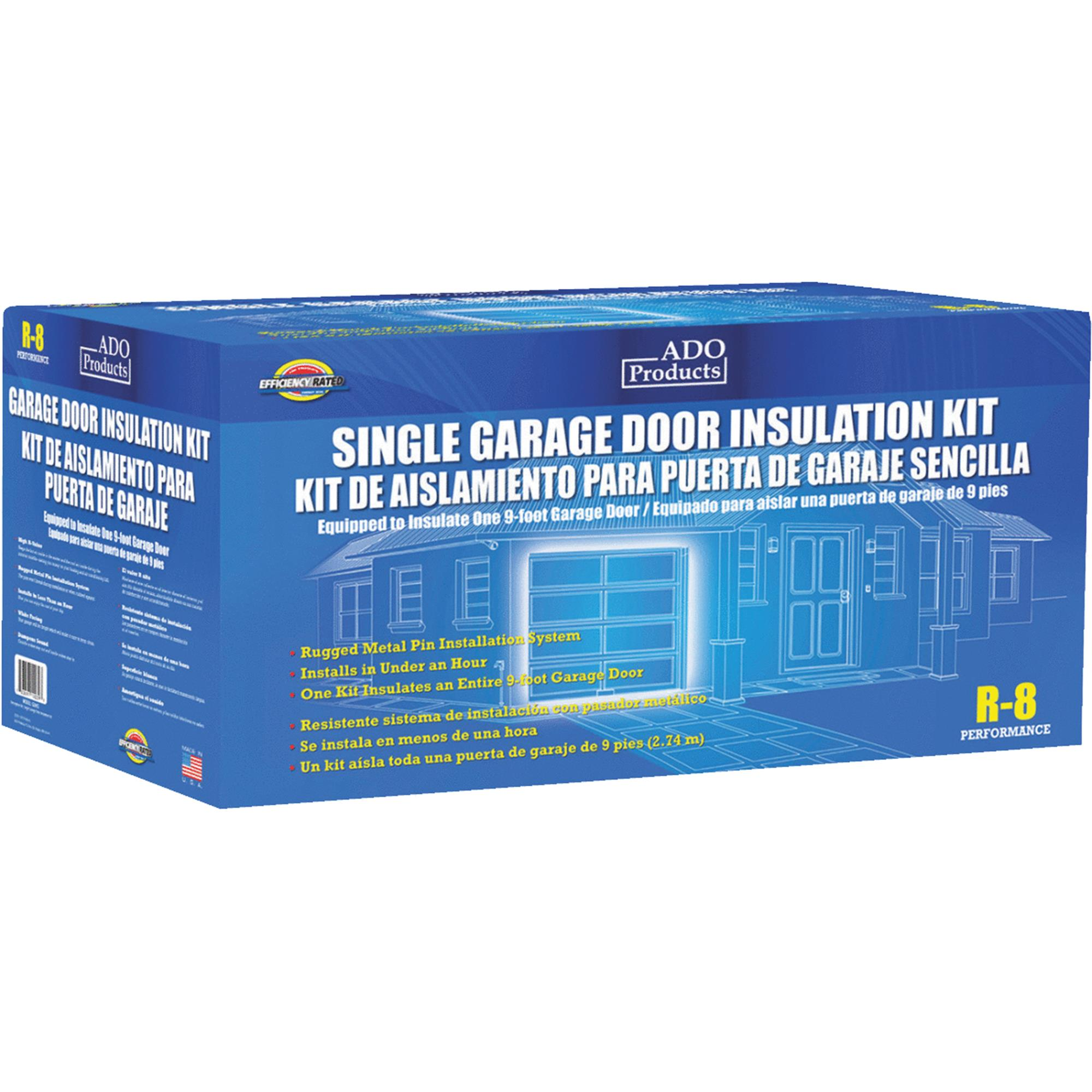 ADO 7 Ft. Or 8 Ft. Single Garage Door Insulation Kit