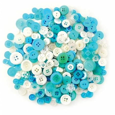 Fashion Buttons 85g-Ocean - image 1 de 1