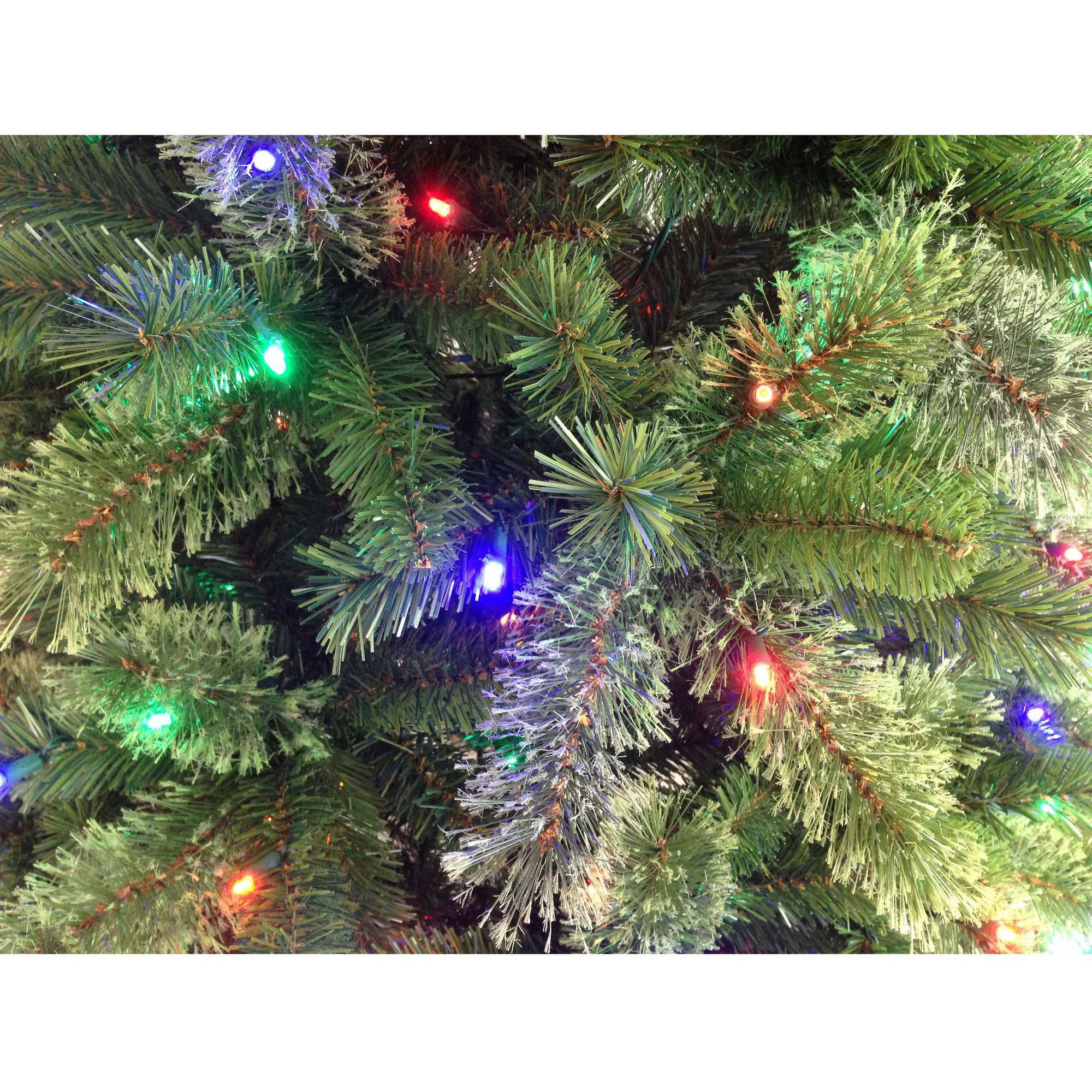 Holiday Time Pre-Lit 7.5\' Cashmere Artificial Christmas Tree, Color ...
