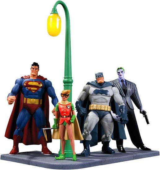 Batman Dark Knight Returns Action Figure 4-Pack