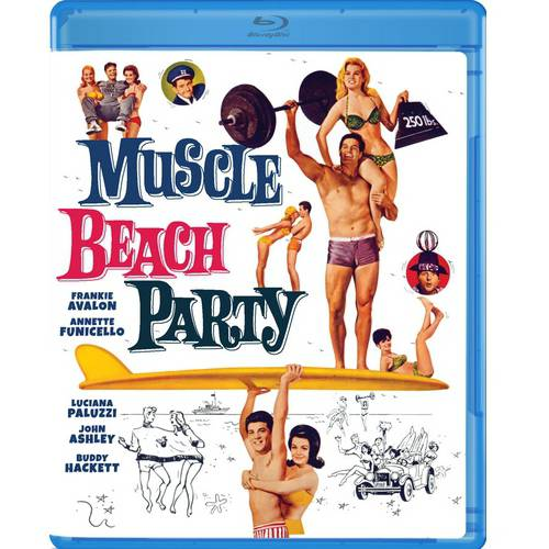 Muscle Beach Party (Blu-ray) (Widescreen)