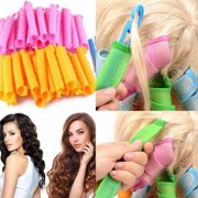 18pcs/set New Magic MultiColor Plastic Hair Curler Rollers Styling Tool Beauty Accessories