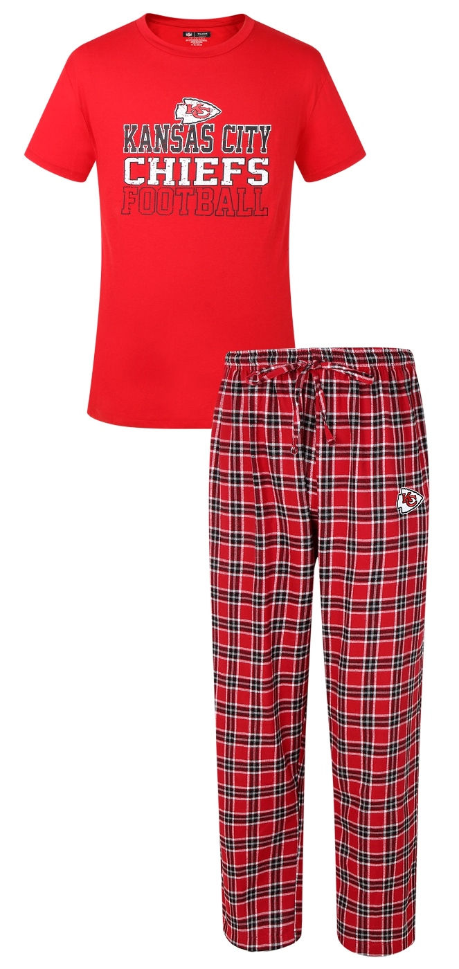 Women's Kansas City Chiefs Concepts Sport Red Medalist Pant & T-Shirt Pajama Set