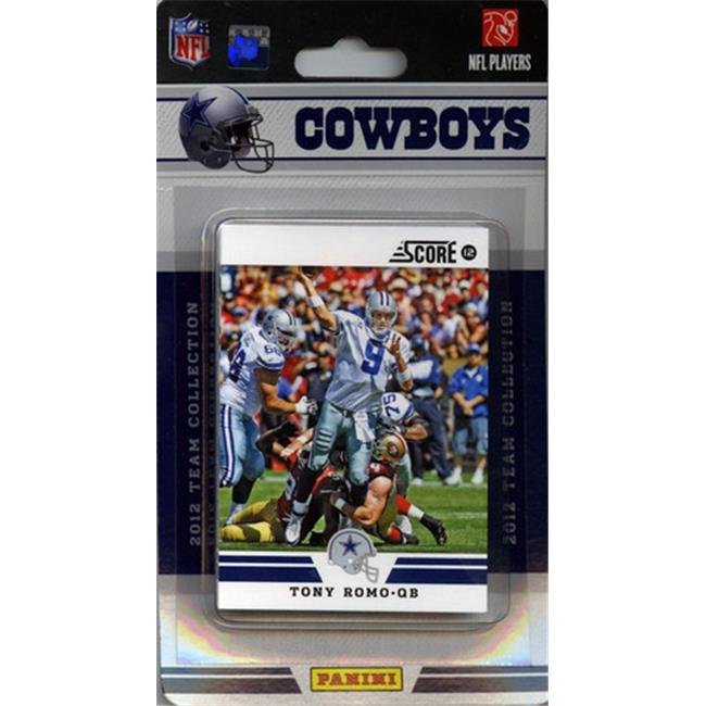 C & I Collectables 2994675919 Dallas Cowboys 2012 Score Team Set - image 1 of 1