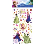 Wilton Disney Frozen Anna & Flowers Stickers, 36 Piece