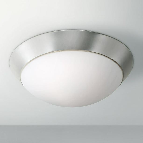 360 Lighting Modern Ceiling Light Flush, Bathroom Dome Light