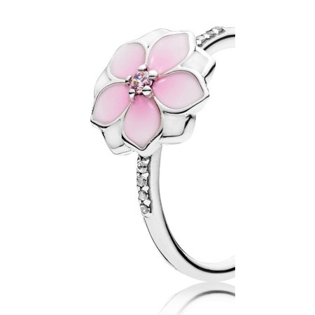 993f7b784 ... Pandora Magnolia Bloom Ring - Size 54 - 191026PCZ-54 ...