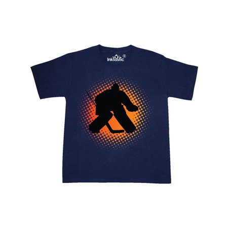 Ice Hockey Goalie Sports Youth T-Shirt (Bauer Hockey Shirt With Neck Guard Youth)
