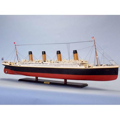 Hand Craft Model Handcrafted Nautical Decor RMS Titanic 5...