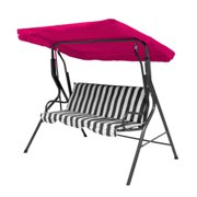 For Swing Seat Garden Hammock 2 & 3 Seater Sizes Spare Cover Replacement Canopy